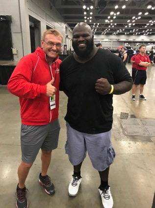 me with Mark Henry
